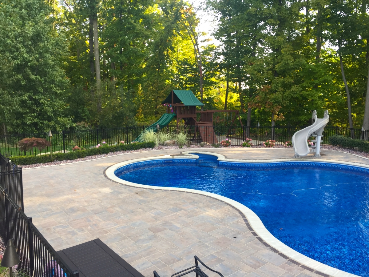 Michigan Landscaping Company For Backyard Pools Ponds And Waterfalls